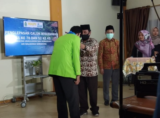 Prodi Magister IAT FUHum Lepas 10 Calon Wisudawan-Wisudawati